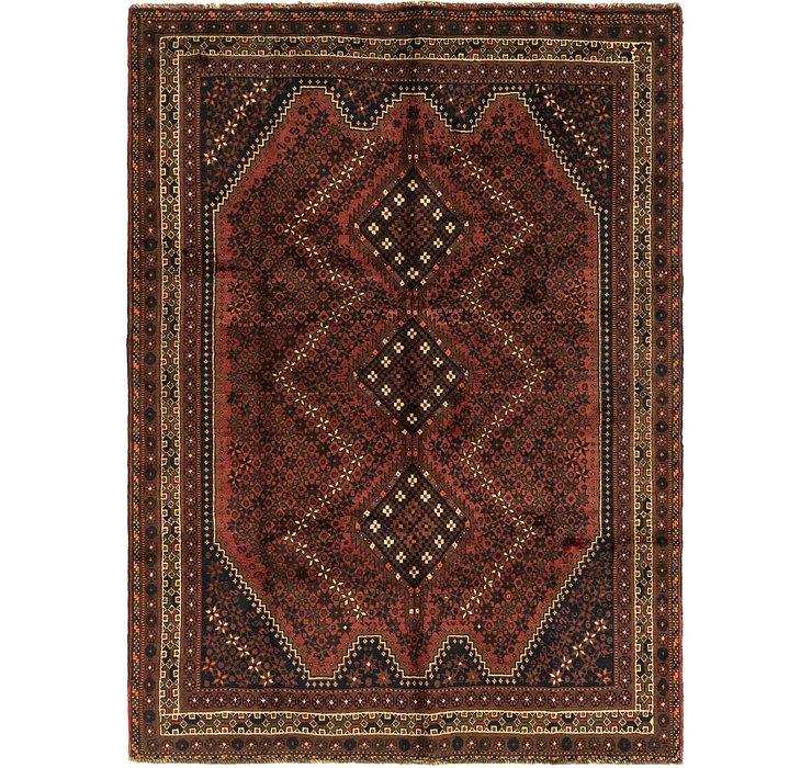 205cm x 275cm Ghashghaei Persian Rug