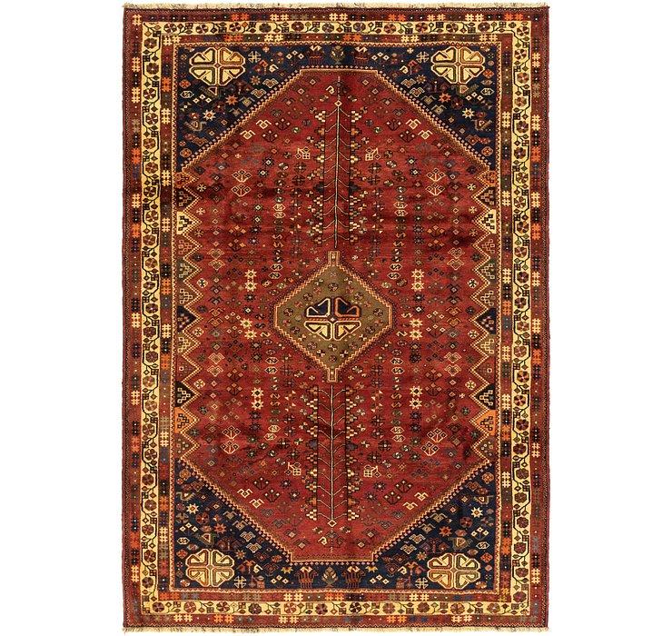 6' 7 x 9' 9 Ghashghaei Persian Rug