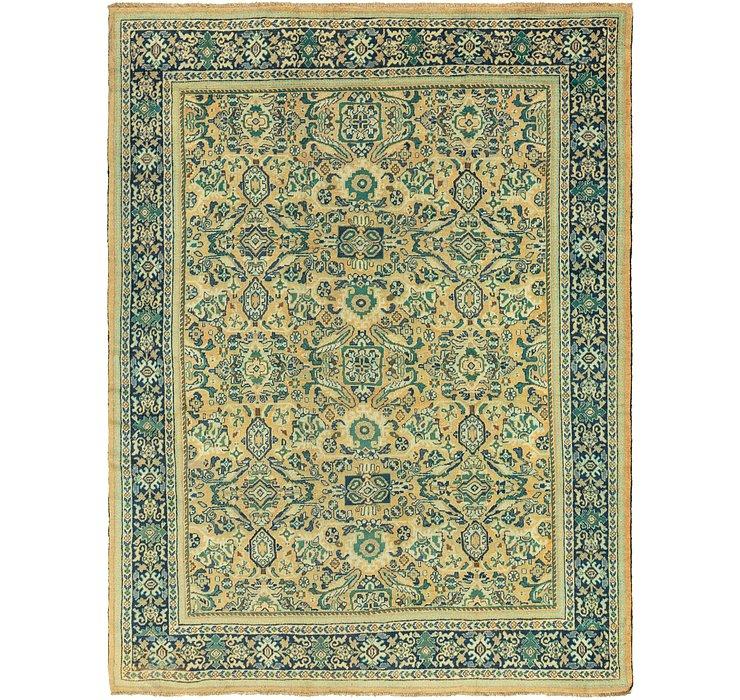 11' x 14' 8 Mahal Persian Rug