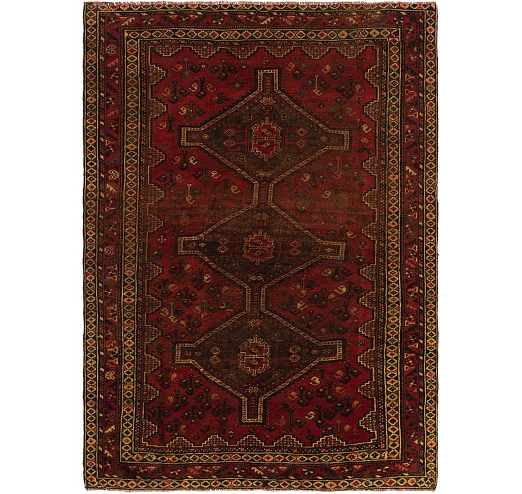 6' 7 x 9' 4 Ghashghaei Persian Rug
