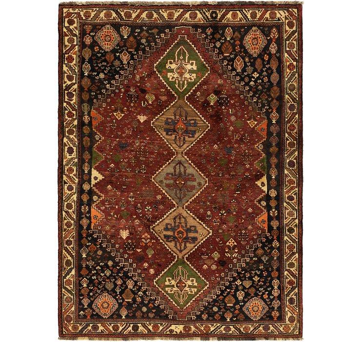 5' 5 x 7' 9 Ghashghaei Persian Rug