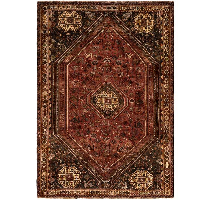 5' 9 x 8' 4 Ghashghaei Persian Rug