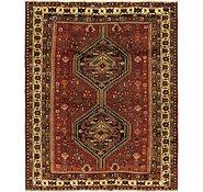 Link to 5' 5 x 7' Ghashghaei Persian Rug