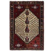 Link to 3' 3 x 4' 9 Hamedan Persian Rug