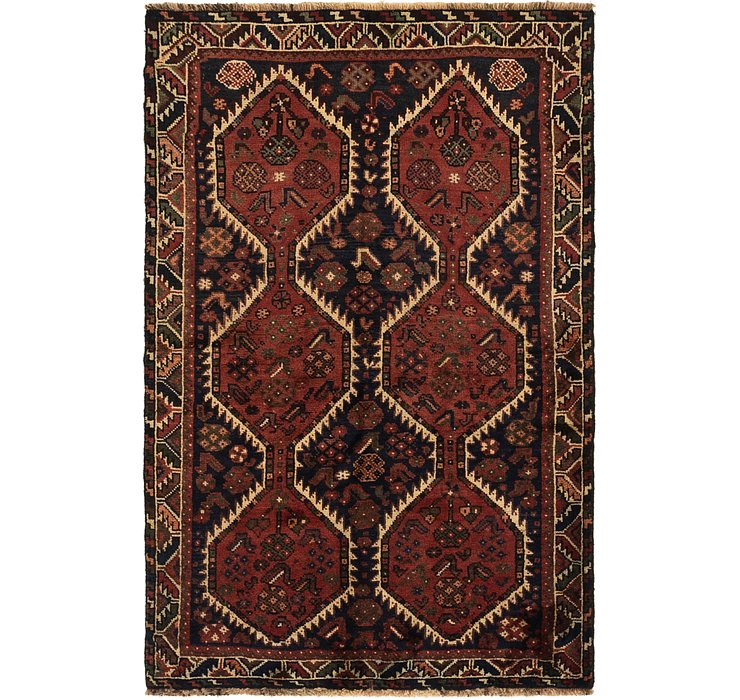 3' 10 x 5' 10 Ghashghaei Persian Rug