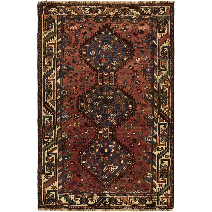 3' 8 x 5' 9 Ghashghaei Persian Rug
