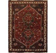 Link to 4' 3 x 5' 7 Ghashghaei Persian Rug