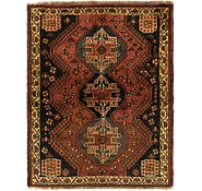 Link to 3' 6 x 4' 4 Ghashghaei Persian Square Rug