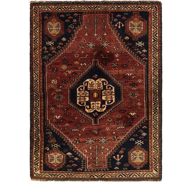 110cm x 147cm Ghashghaei Persian Rug