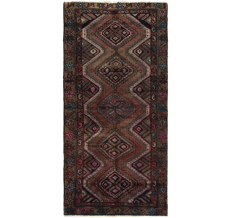2' 7 x 5' 6 Chenar Persian Runner Rug