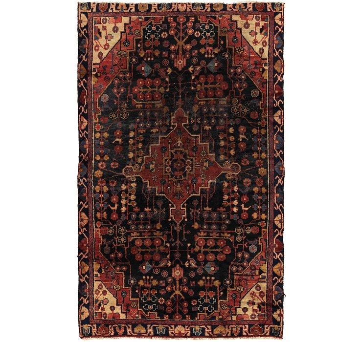 4' 2 x 6' 9 Nahavand Persian Rug