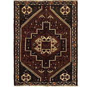 Link to 115cm x 152cm Ghashghaei Persian Rug