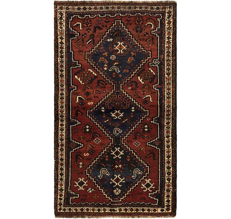 105cm x 183cm Ghashghaei Persian Rug