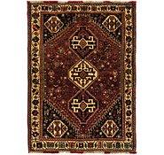 Link to 117cm x 170cm Ghashghaei Persian Rug