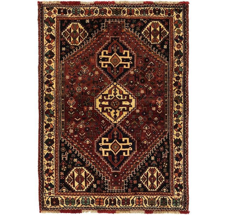 3' 10 x 5' 7 Ghashghaei Persian Rug