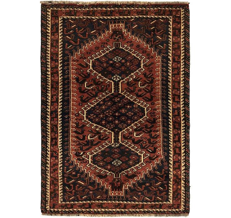 3' 10 x 5' 8 Ghashghaei Persian Rug