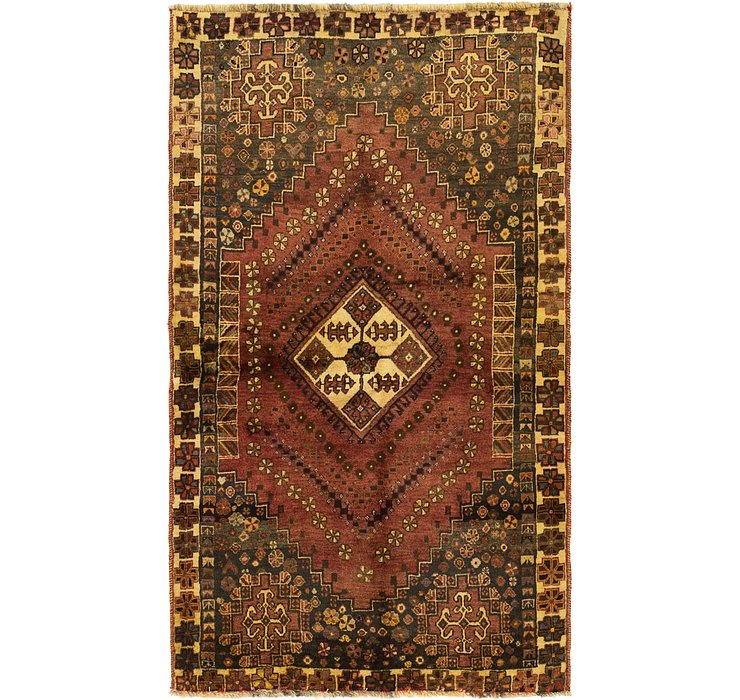 3' 7 x 6' Ghashghaei Persian Rug
