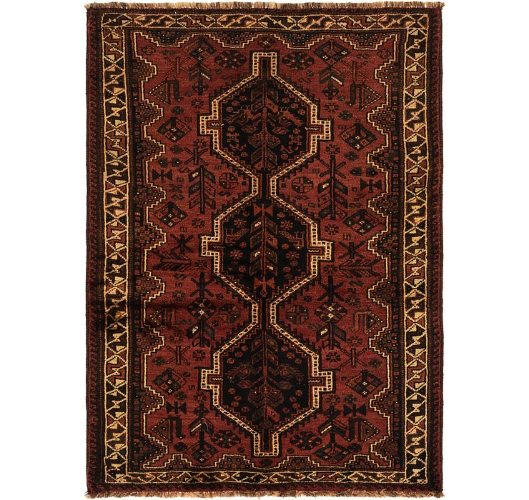 3' 10 x 5' 6 Ghashghaei Persian Rug
