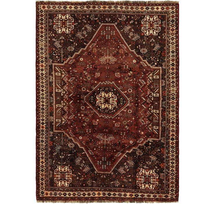 5' 9 x 8' Ghashghaei Persian Rug