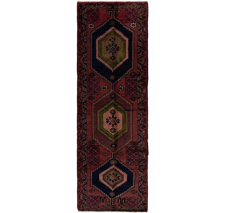 3' 3 x 10' 5 Mazlaghan Persian Runne...