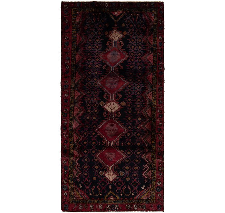 4' x 9' Gholtogh Persian Runner...