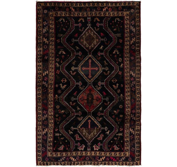 5' x 7' 9 Chenar Persian Rug