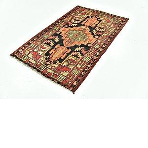 Link to 97cm x 152cm Khamseh Persian Rug item page