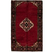 Link to 3' 9 x 6' Hossainabad Persian Rug