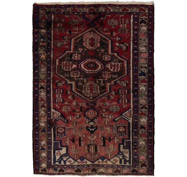 3' 7 x 5' 5 Khamseh Persian Rug