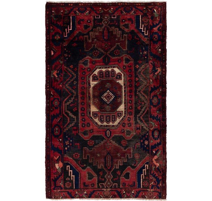 3' 9 x 6' 7 Zanjan Persian Rug