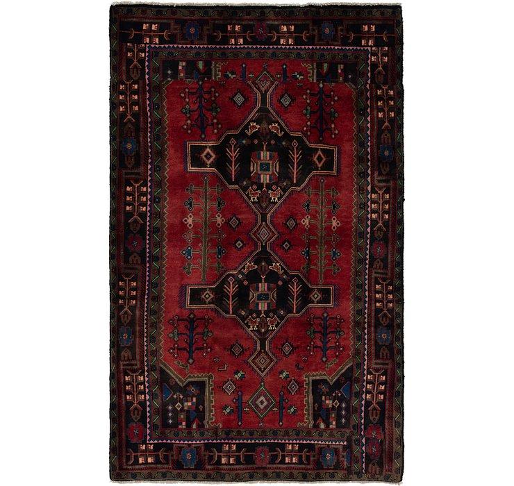5' x 8' 8 Koliaei Persian Rug
