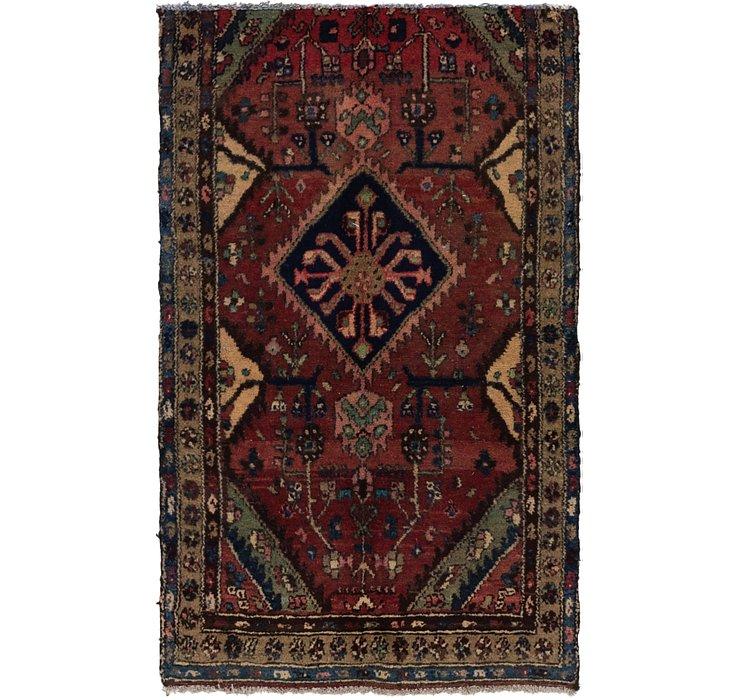3' 3 x 5' 3 Hamedan Persian Rug