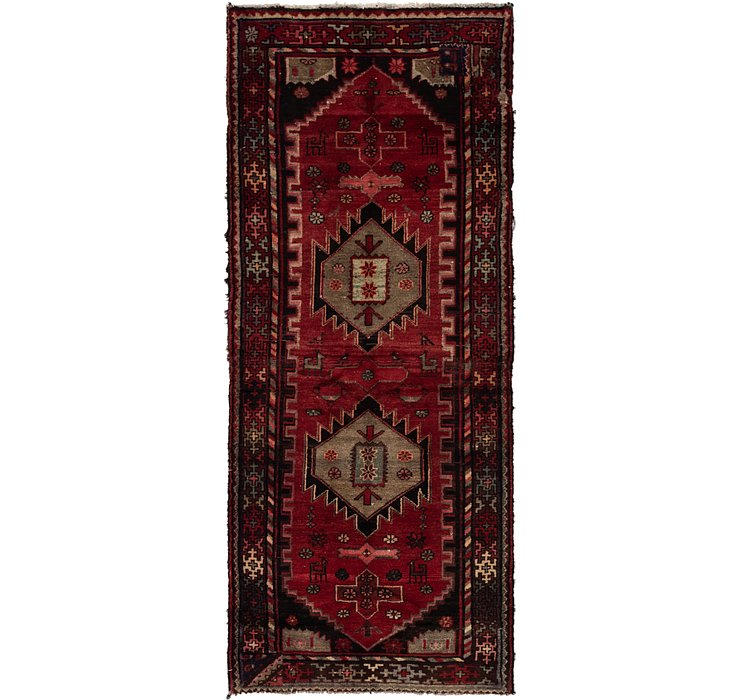 3' 3 x 8' 4 Zanjan Persian Runner Rug