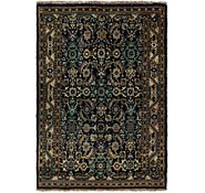 Link to 3' 5 x 5' Hossainabad Persian Rug