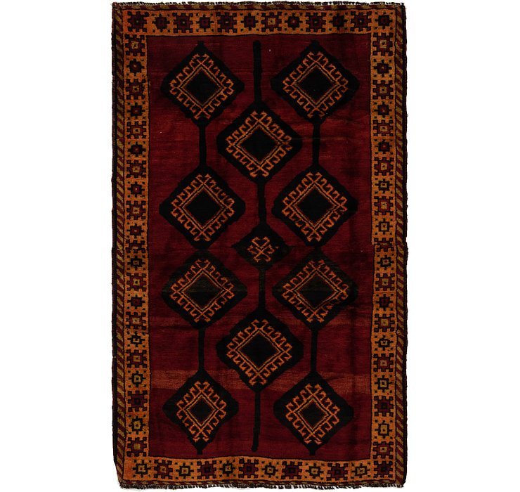4' 2 x 7' 2 Shiraz Persian Rug