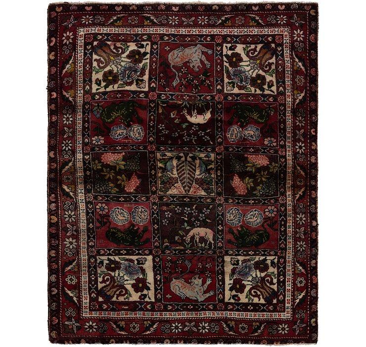 4' 7 x 6' 4 Bakhtiar Persian Rug