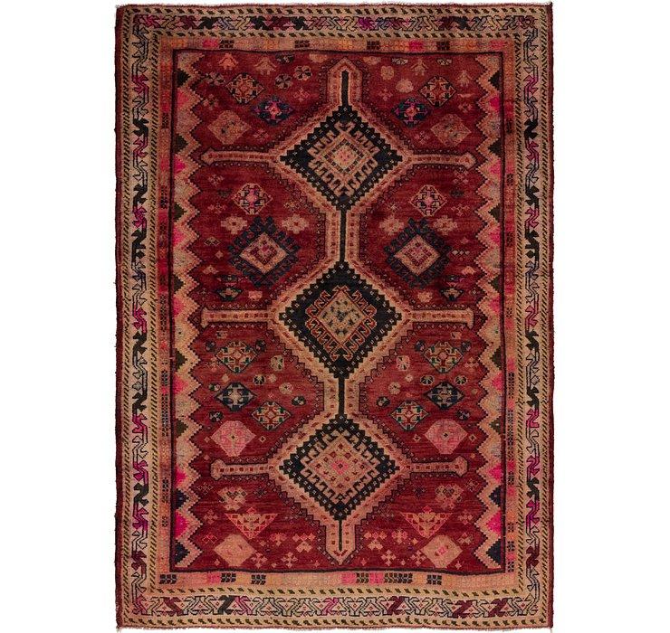 4' 8 x 6' 7 Hamedan Persian Rug
