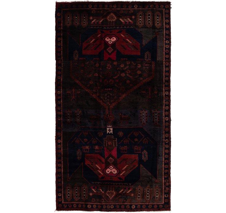 3' 9 x 7' 3 Zanjan Persian Rug
