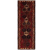Link to 3' 9 x 11' 4 Shiraz Persian Runner Rug