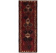 Link to 3' 9 x 11' 4 Shiraz Persian Runner Rug