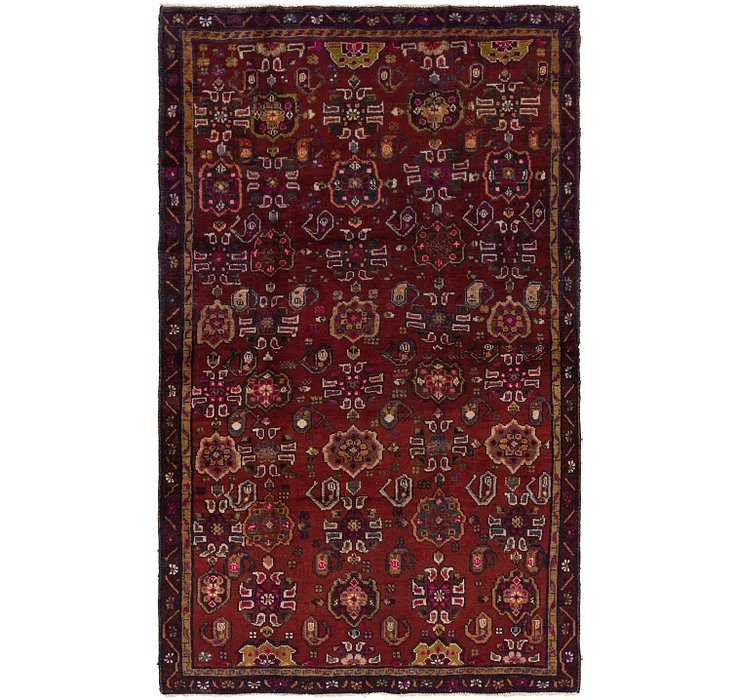 5' x 7' 9 Gholtogh Persian Rug