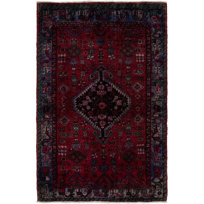 4' 2 x 6' 5 Gholtogh Persian Rug