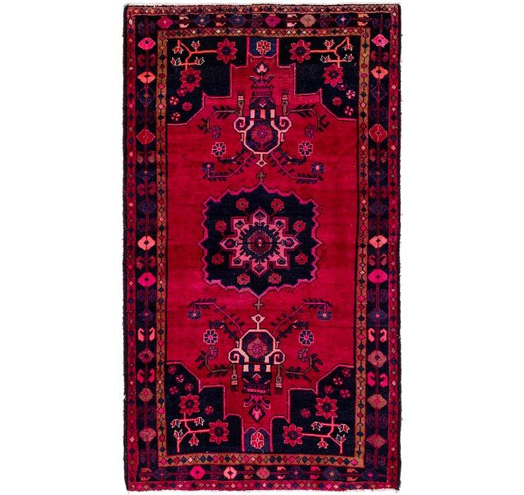 4' 4 x 7' 10 Hamedan Persian Rug