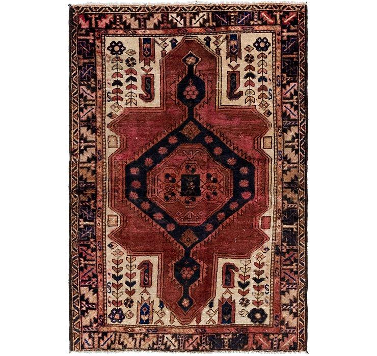 4' 3 x 6' 3 Hamedan Persian Rug