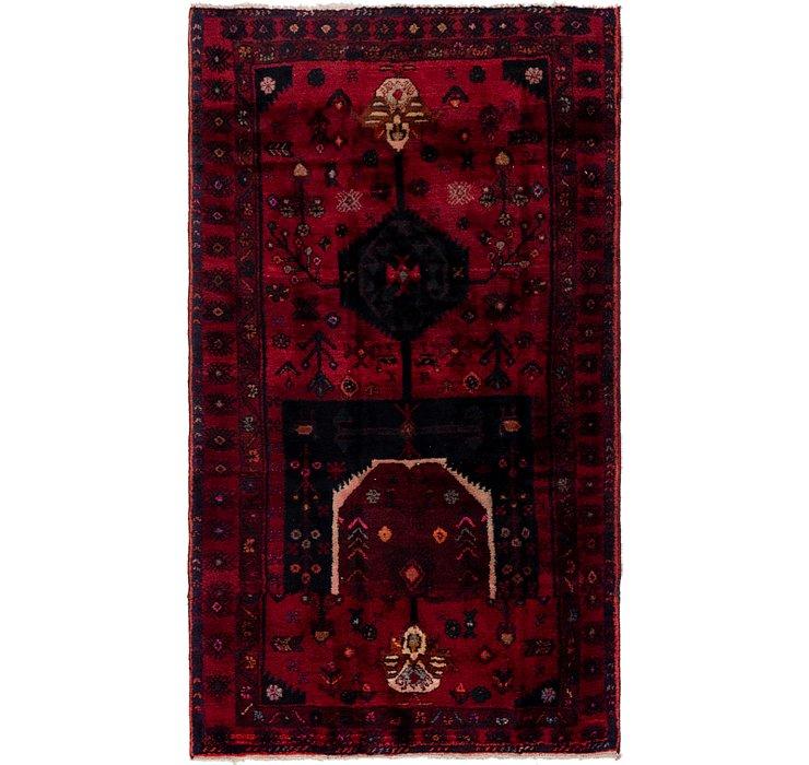 4' 2 x 7' 5 Sirjan Persian Rug
