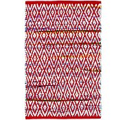 Link to 2' x 3' 4 Chindi Cotton Rug