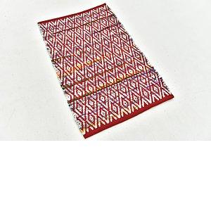 Unique Loom 2' x 3' 4 Chindi Cotton Rug