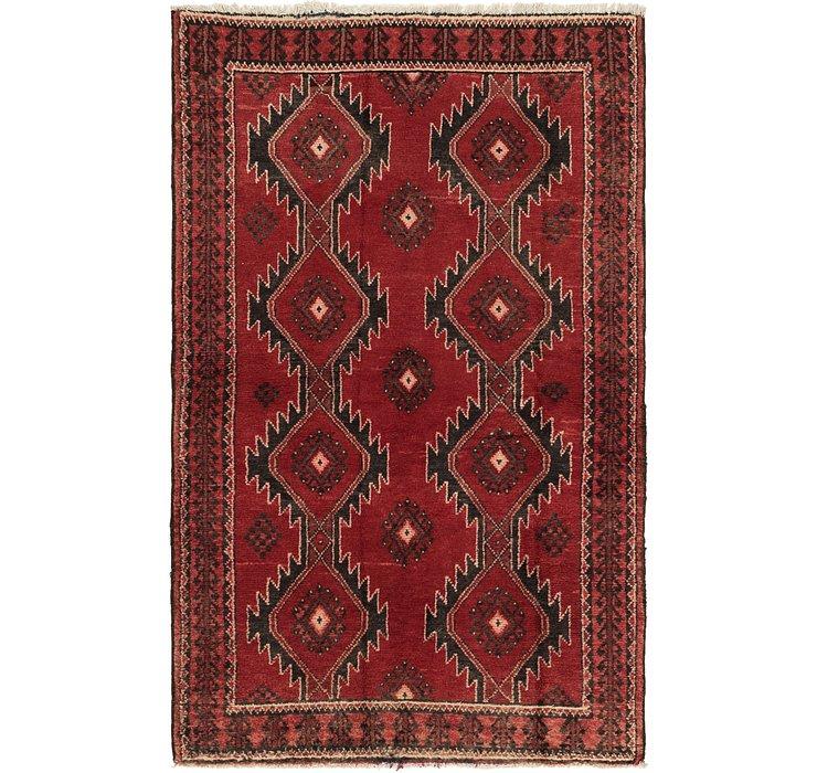 3' 10 x 6' 3 Ferdos Persian Rug