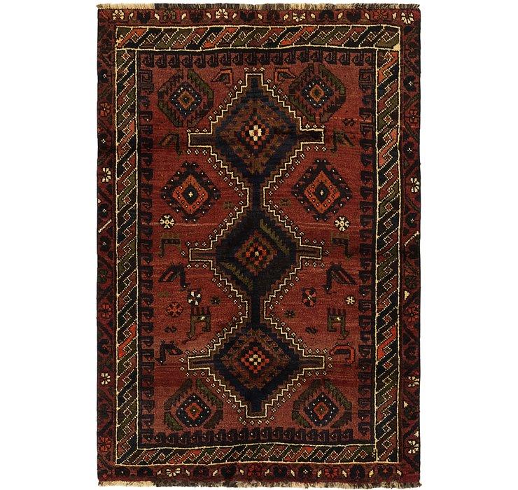 3' 8 x 5' 5 Ghashghaei Persian Rug