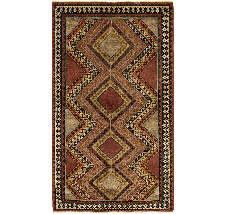 3' 3 x 5' 10 Ghashghaei Persian Rug